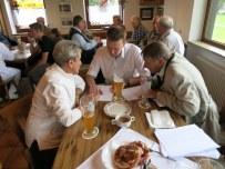Doris Günther mit dem neuen und alten Bürgermeister